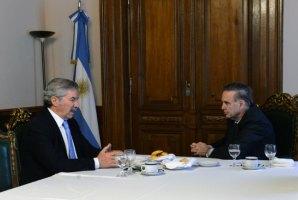 Pichetto y Solá se reunieron y conversaron sobre la situación del país