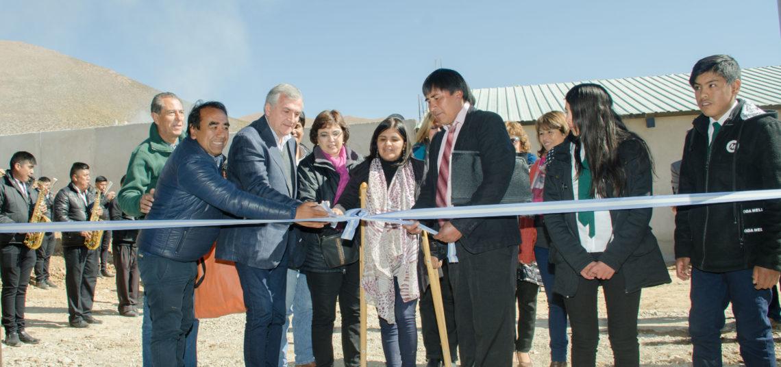 Nueva Escuela Técnica Química en Olaroz Chico