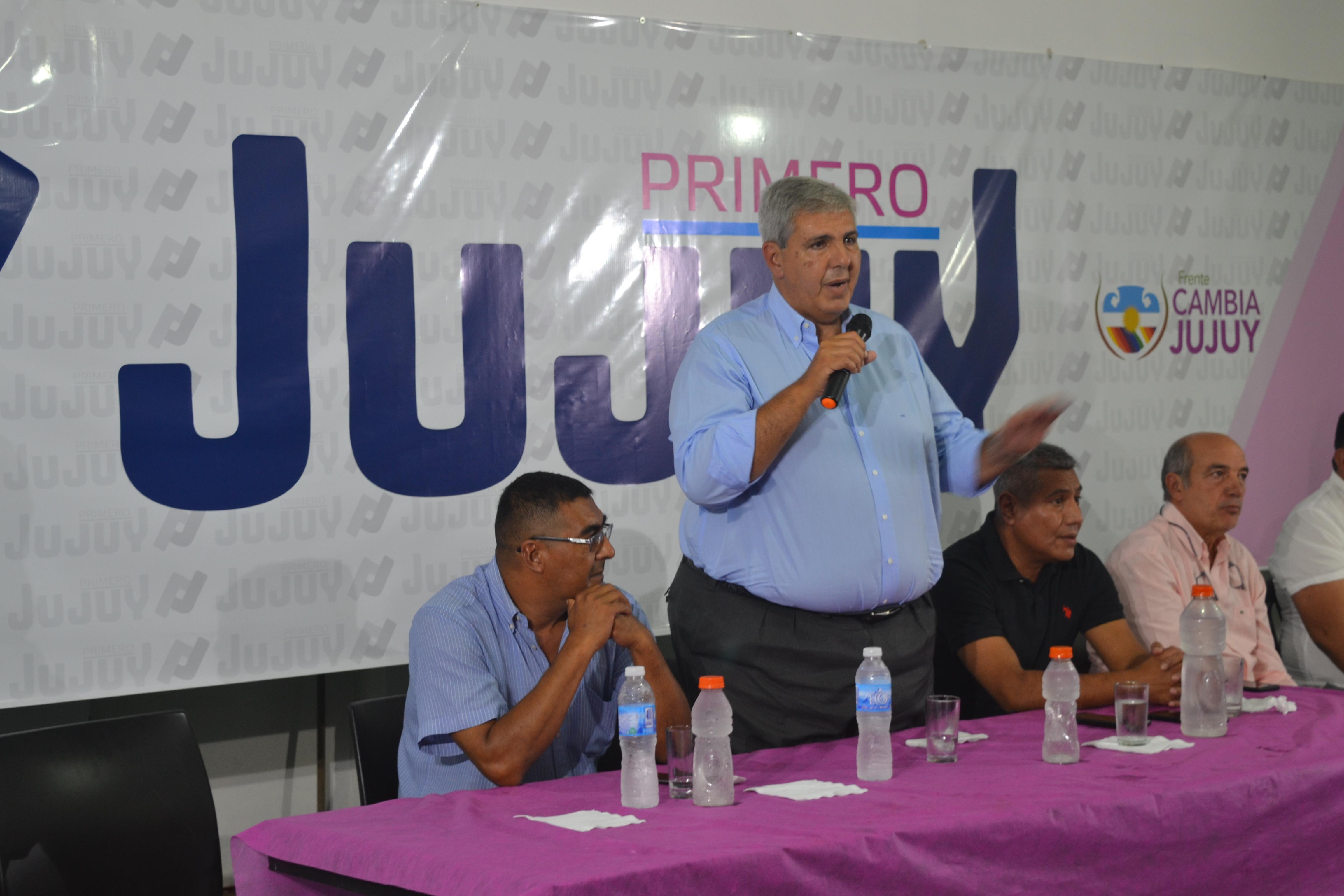 Primero Jujuy a favor de mantener el Frente Cambia Jujuy