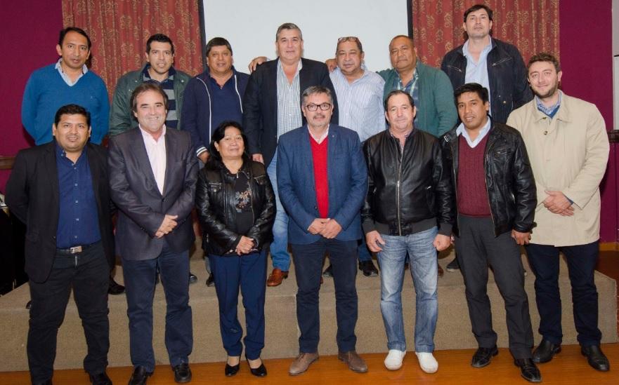 Jefes comunanales ratificaron alineamiento con el gobernador