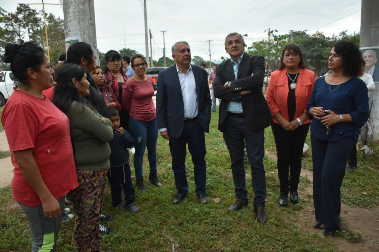 El Gobernador Morales recorrió obras