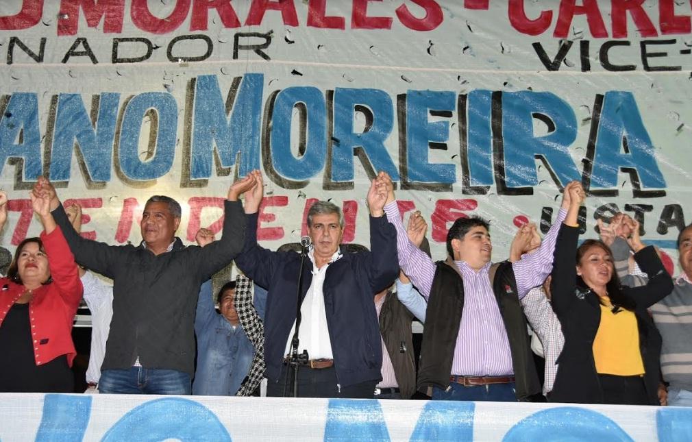 Luciano Moreira presentó su candidatura en Monterrico