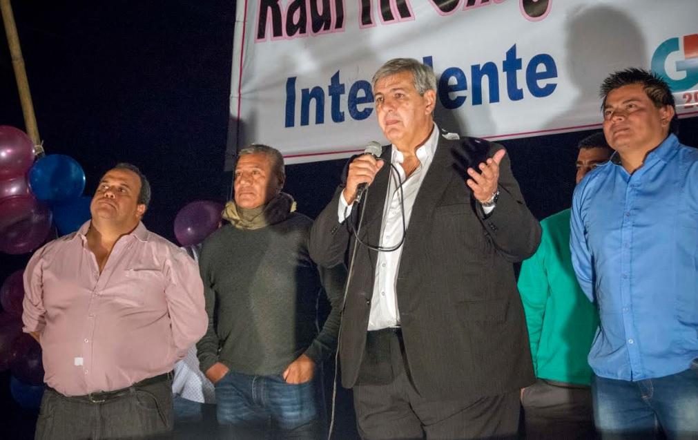 HAQUIM RESPALDÓ LA CANDIDATURA DE RAÚL CHAGRA