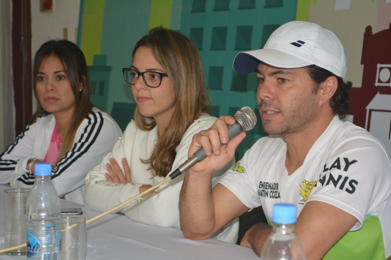 Se pone en marcha el Abierto Nacional Regional de tenis
