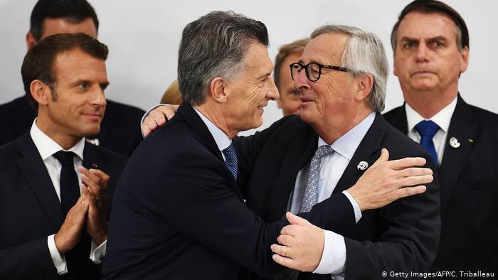 """Macri: acuerdo UE-Mercosur es """"oportunidad de crecimiento para nuestra gente"""""""