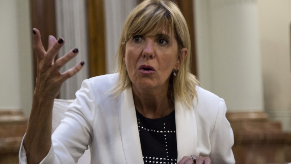 La vice de Perotti ratificó que apoyarán a Alberto y Cristina