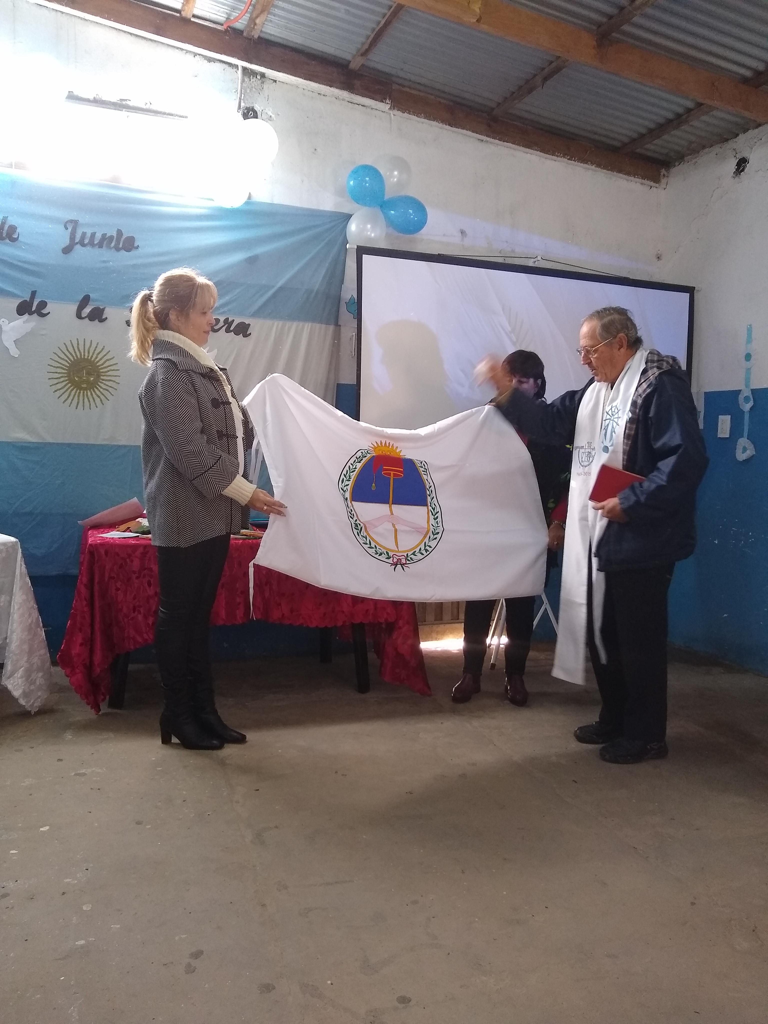Alumnos del Instituto de Seguridad juraron a la bandera