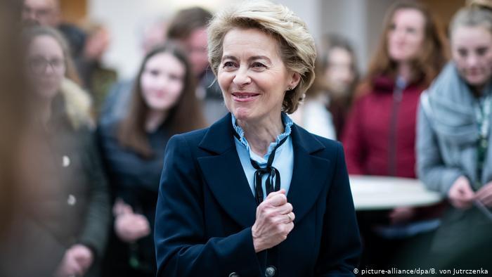 La alemana Von der Leyen es elegida para la presidencia de la Comisión Europea