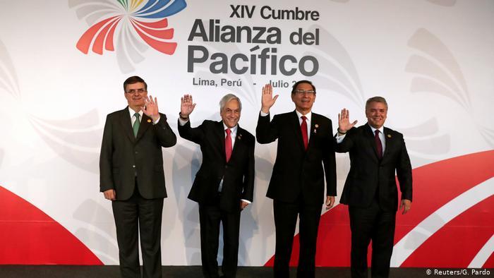 La Alianza del Pacífico abre la puerta a la incorporación de Ecuado