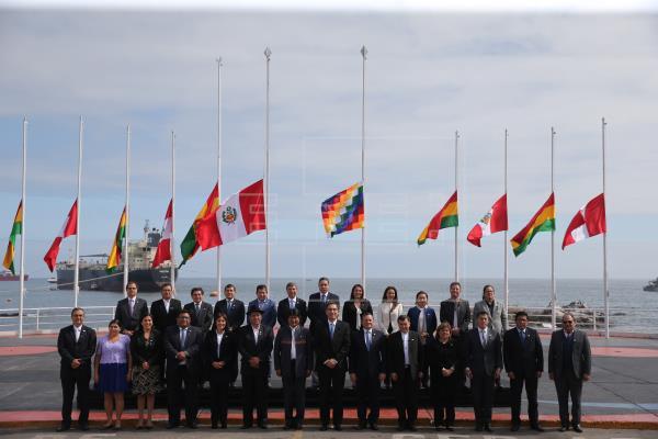 Evo Morales agradece al presidente de Perú por ofrecer el puerto de Ilo para comercio