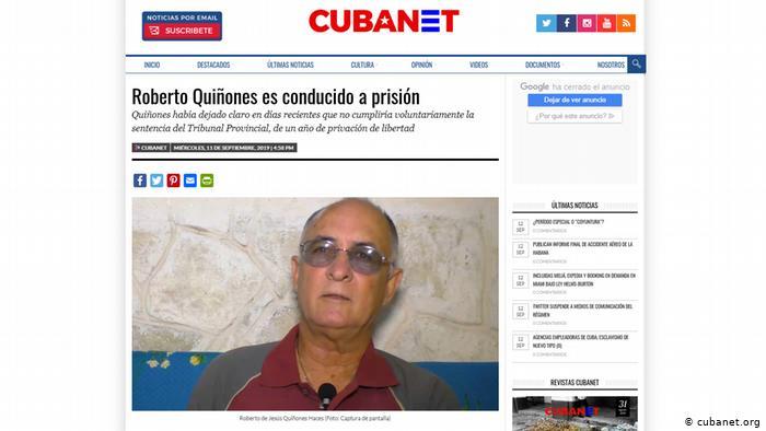 """Roberto Quiñones: """"Seguiré luchando por mis ideales en Cuba cueste lo que cueste"""""""