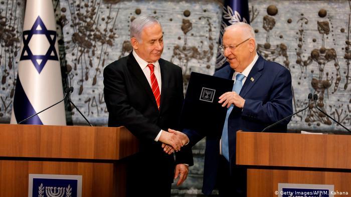 El presidente de Israel encarga a Netanyahu la formación de un nuevo Gobierno