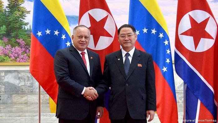 Diosdado Cabello se reúne con líderes norcoreanos en visita a Pyongyang