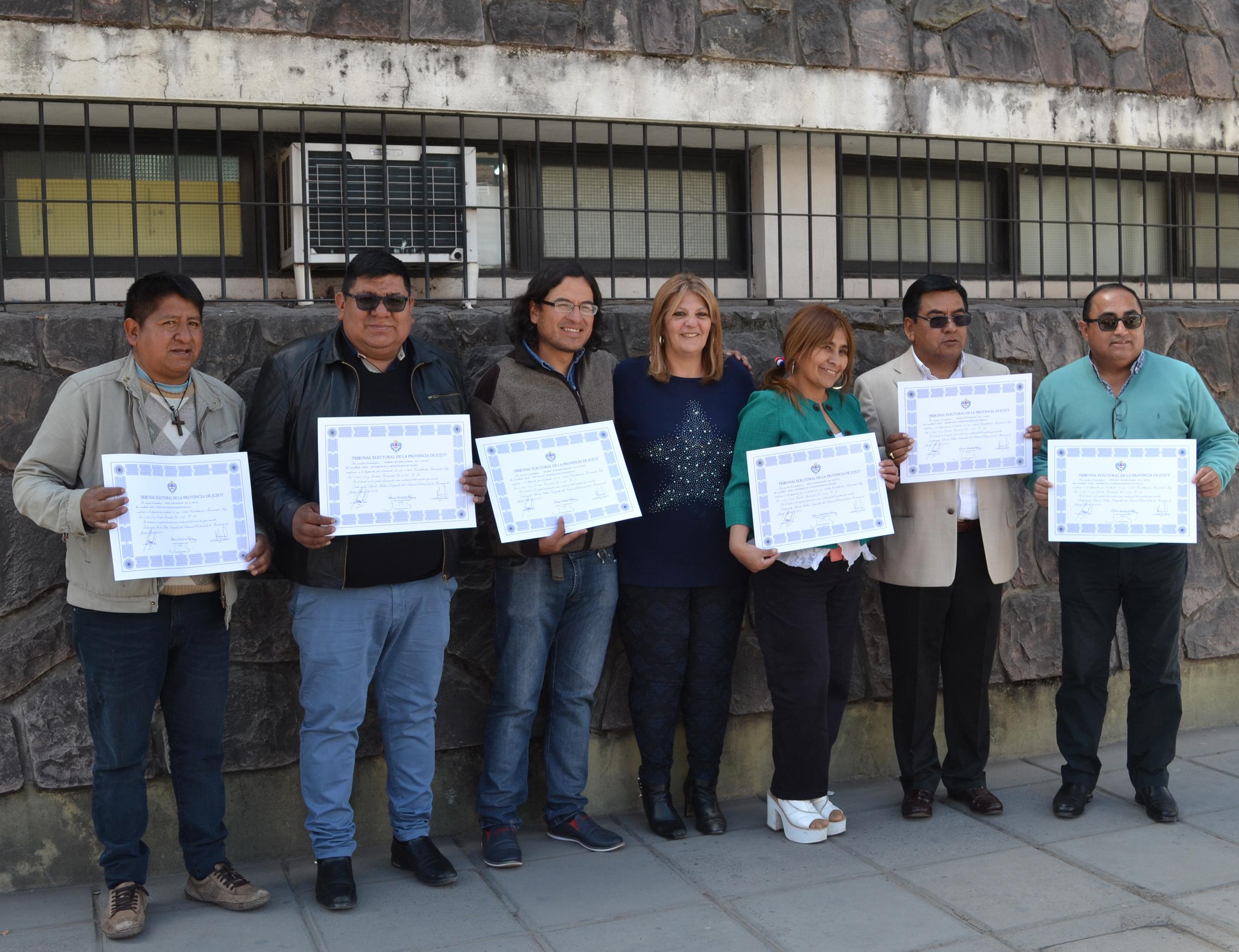 """Electos de """"Primero Jujuy"""" recibieron sus diplomas"""