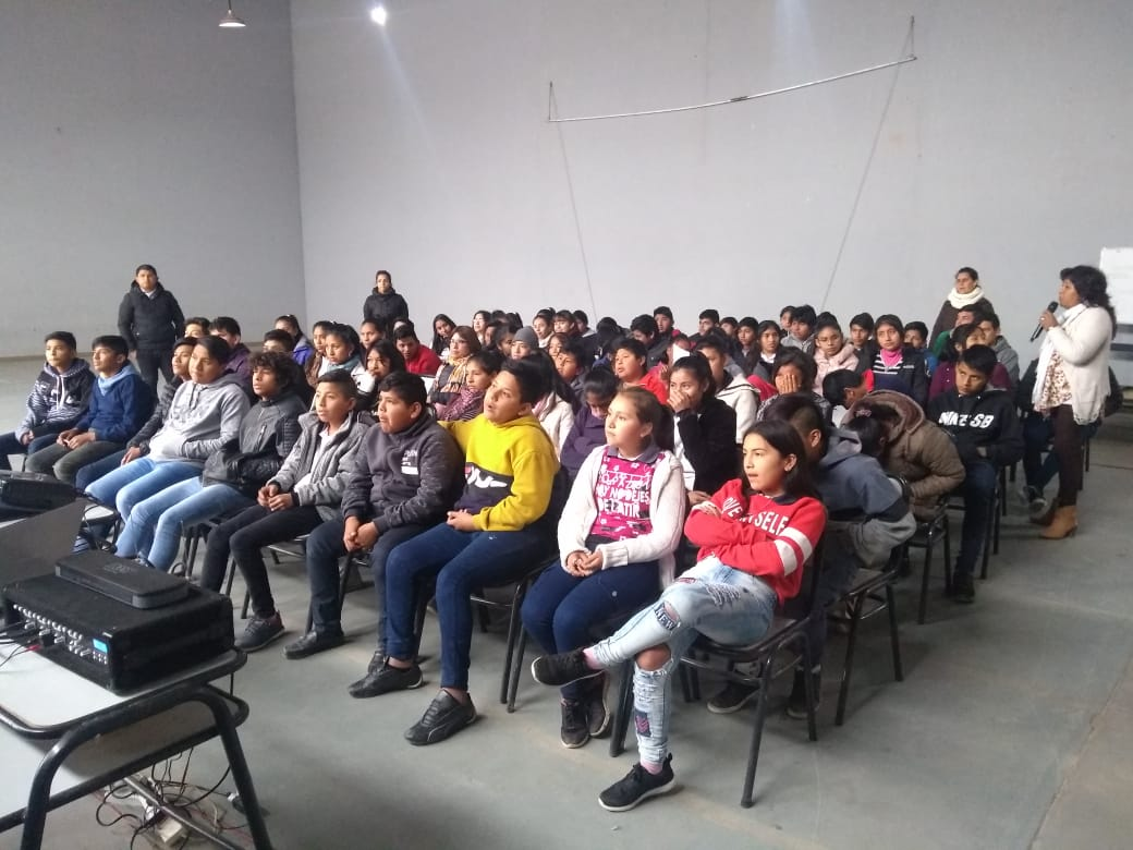 Gran participación de estudiantes secundarios