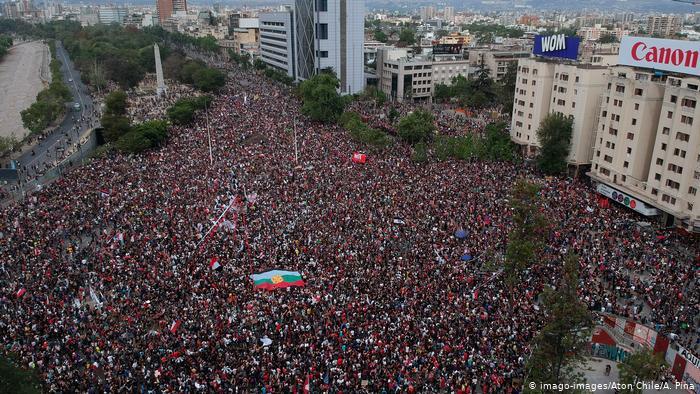La cronología del estallido social de Chile