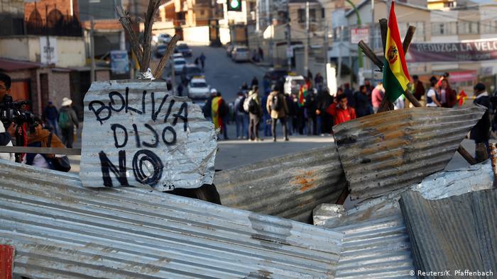 Renuncia jefe de la misión de la OEA que audita elecciones de Bolivia