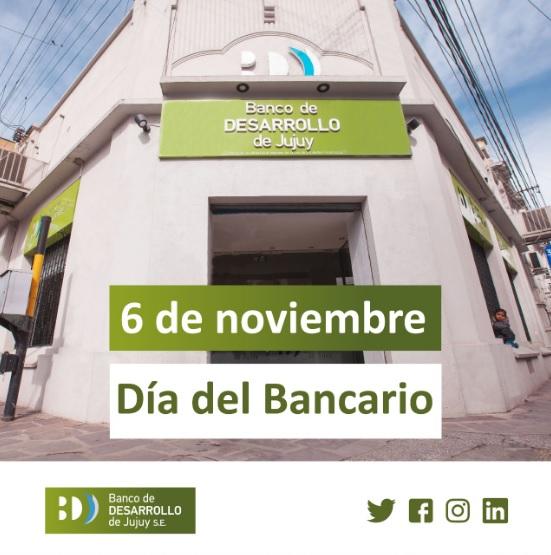 6 de noviembre «Día del bancario»