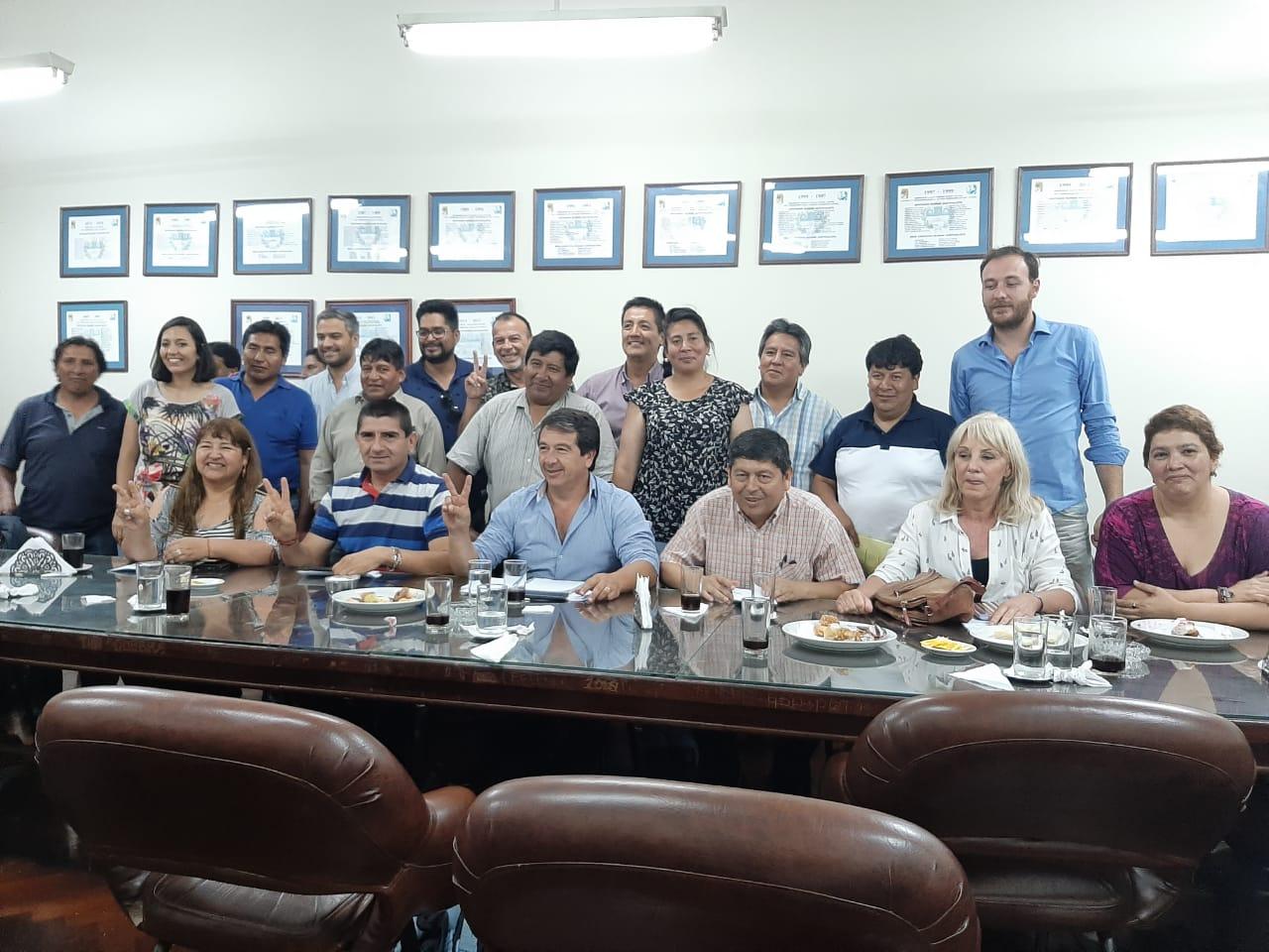 El Bloque Justicialista se reunión con intendentes, diputados y concejales electos