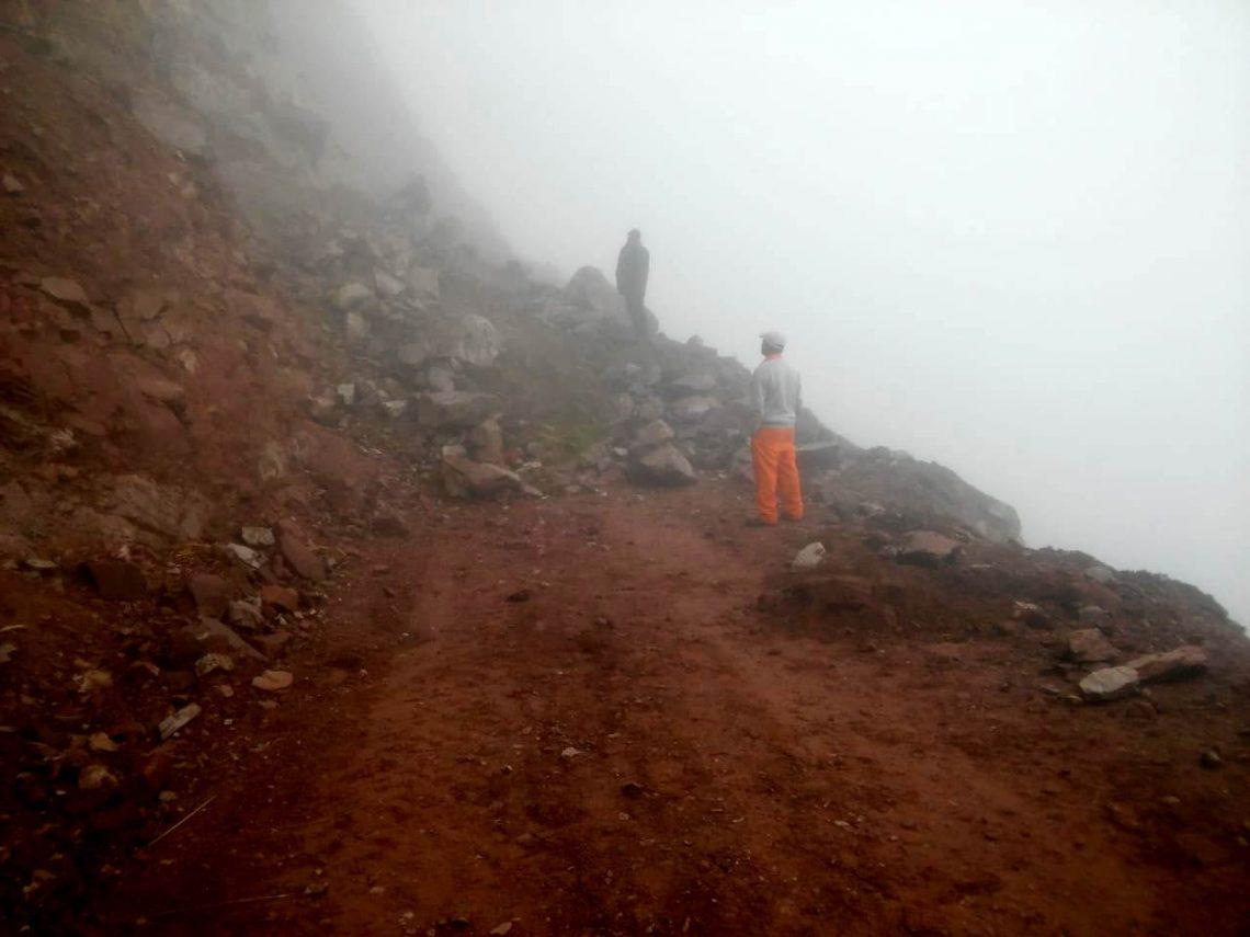 Reacondicionamiento del camino a Valle Colorado