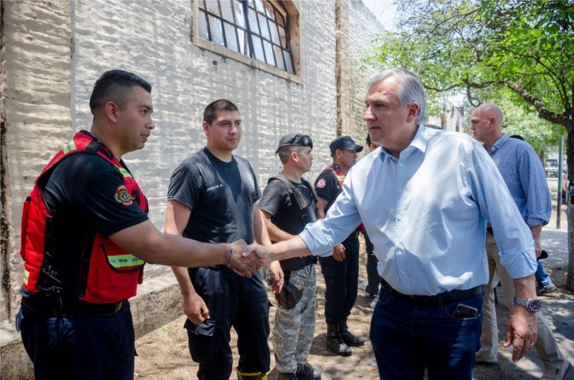Morales sigue de cerca la situación de La Esperanza
