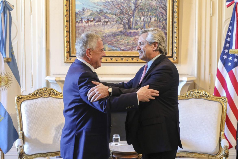 Alberto Fernández recibió a enviado de Donald Trump: EEUU, dispuesto a ayudar a Argentina en negociación con el FMI