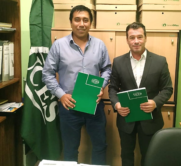 Firman convenio de cooperación y asistencia técnica
