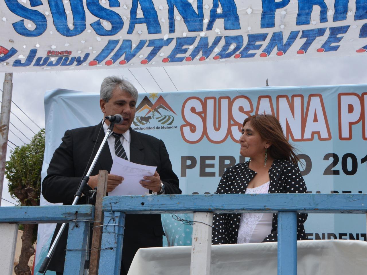 Asumió la primera intendenta de Maimará, Susana Prieto