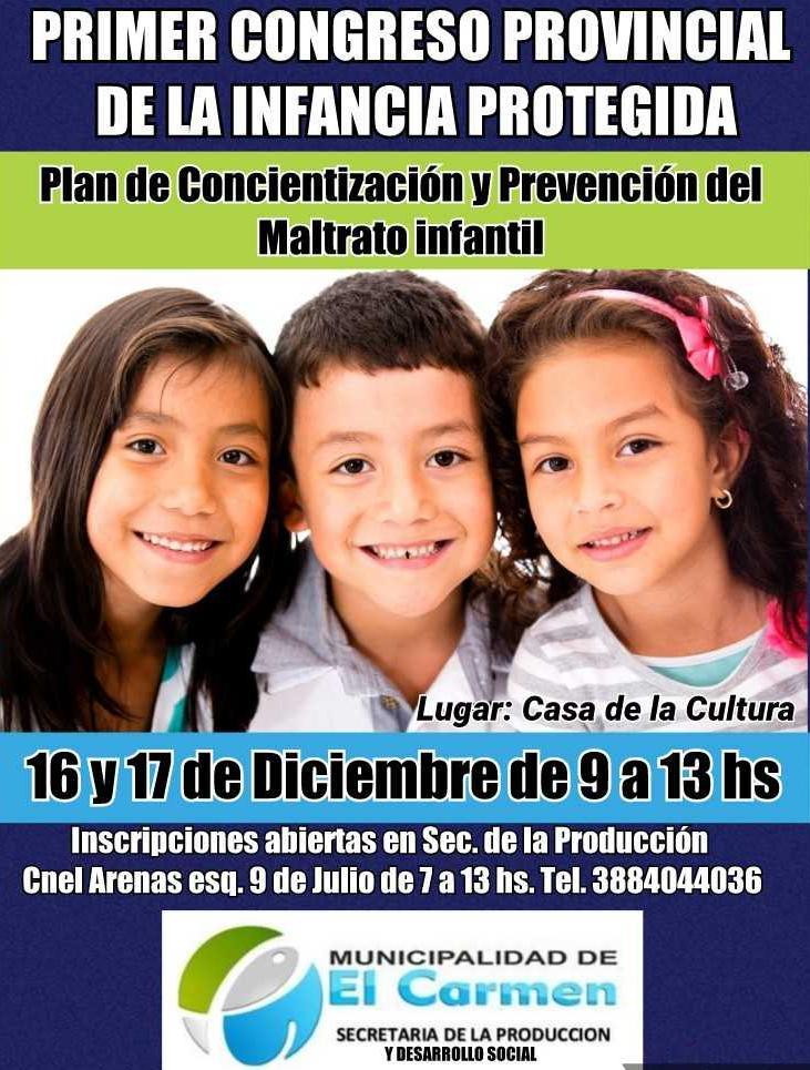 Primer Congreso Provincial de la Infancia Protegida