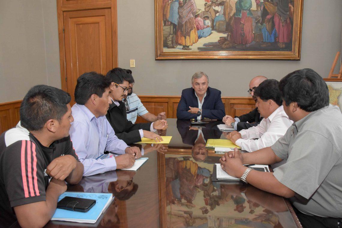Intendentes y Comisionados reunidos en gobernación