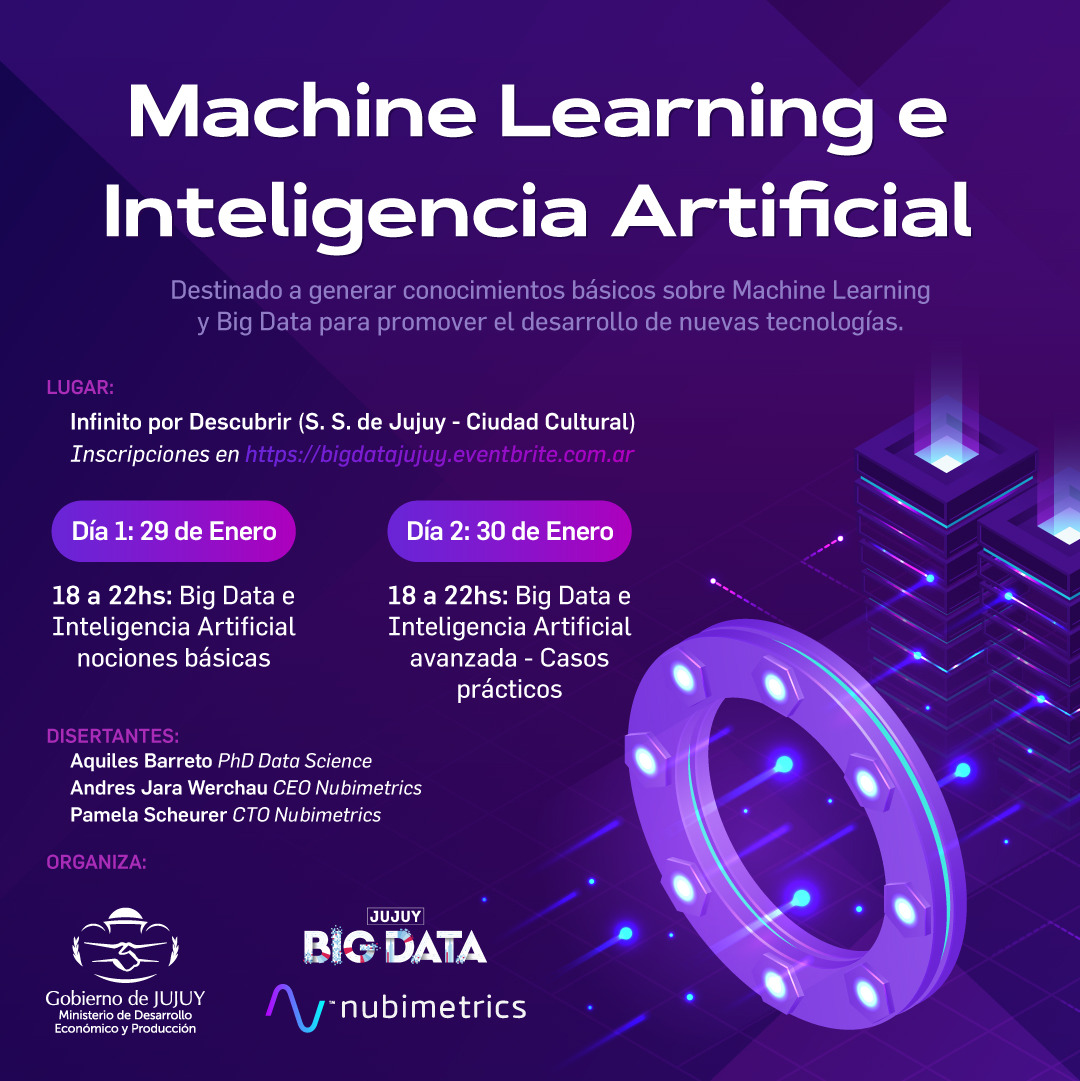 "Jornada ""Machine Learning e Inteligencia Artificial"""