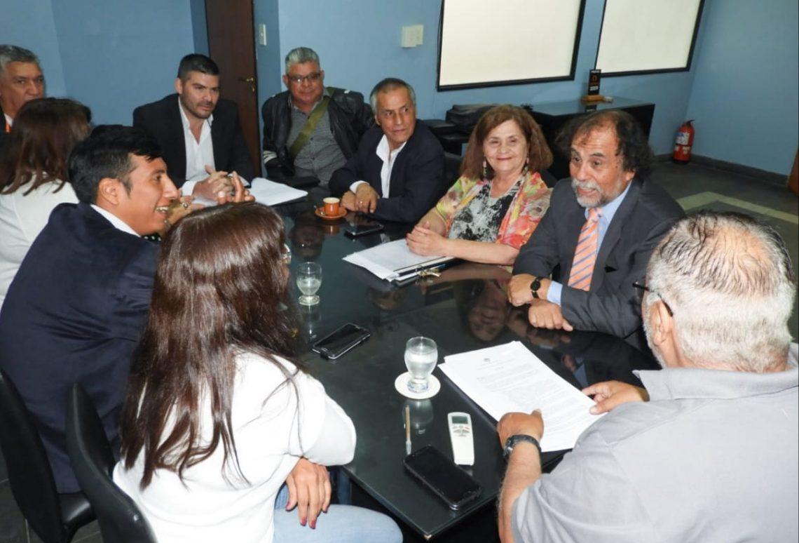 Reunión de UPCN con el Ministro de Trabajo