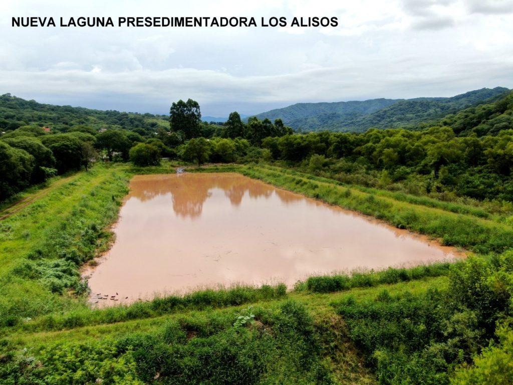 Nueva laguna presedimentadora en Los Alisos