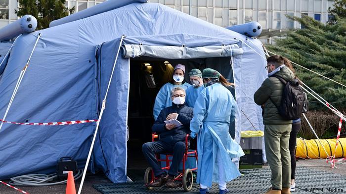 Ya son 1.809 los muertos por coronavirus en Italia, 368 más en el último día