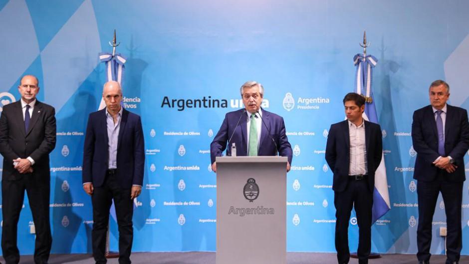 Alberto anunció la cuarentena obligatoria hasta el 31 de Marzo: Sólo se podrá ir a supermercados y farmacias