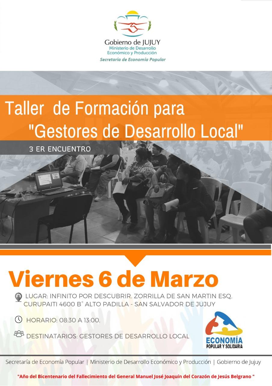 3º Encuentro de Gestores del Desarrollo Local