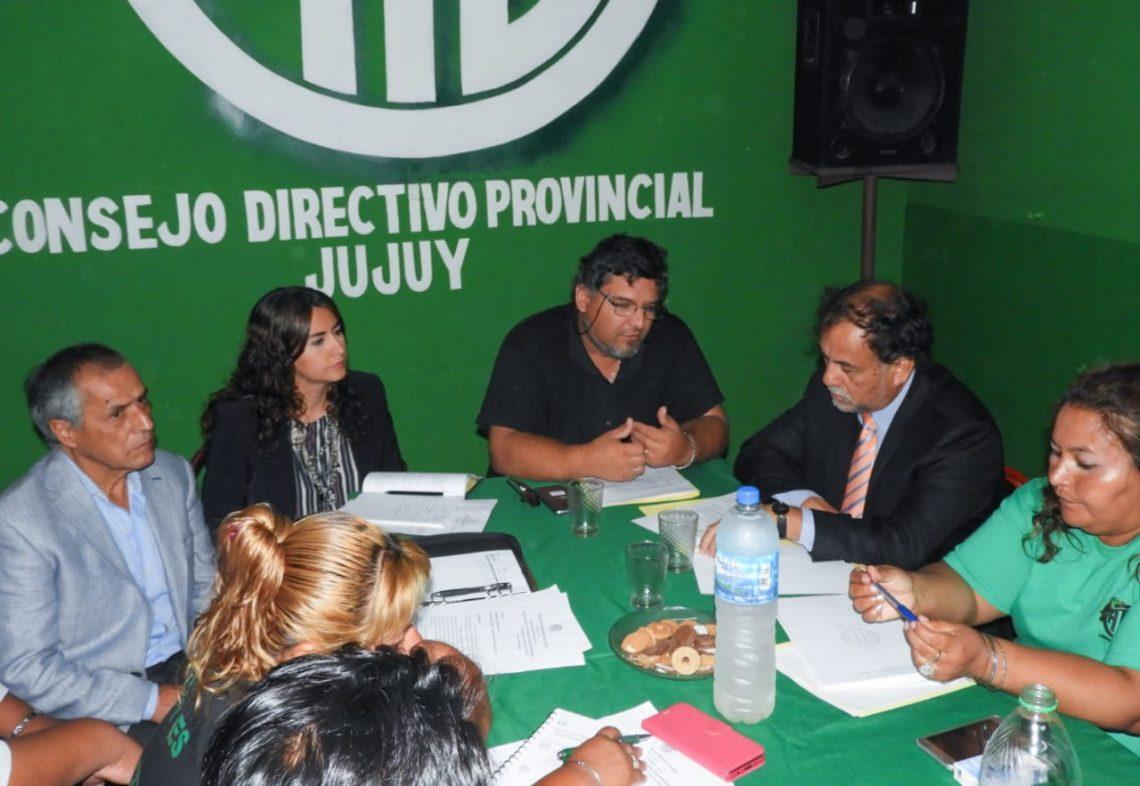 Alvarez García se reunió con ATE