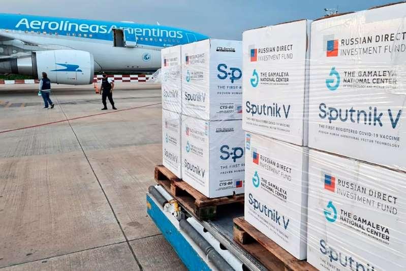 Argentina recibe otro millón de Sputnik V y se normalizará la entrega