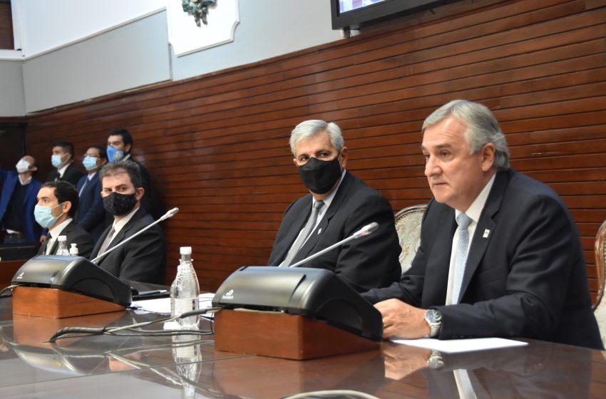 El gobierno dejó inaugurado el 160º período de sesiones ordinarias