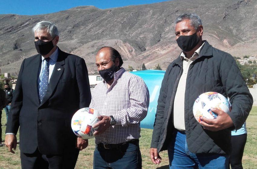 Haquim participó de la apertura de la «Copa Jujuy» en Tilcara