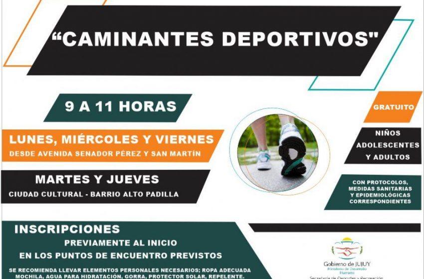 Promoviendo la actividad física de la comunidad a través del Programa «Caminantes Deportivos»