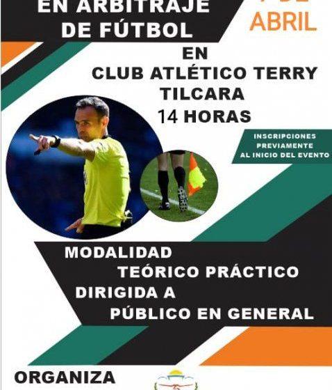 Se invita a la Capacitación en «Arbitraje de Futbol» en Tilcara