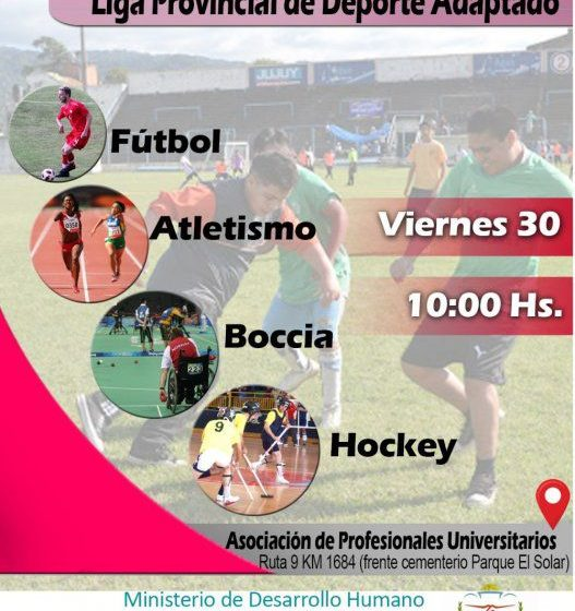 Lanzamiento de la «Liga Provincial de Deporte Adaptado»