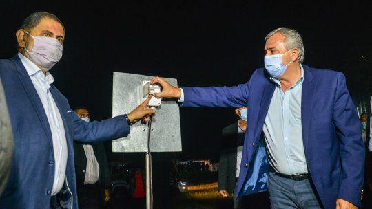 Morales: «Hacer obras, es progreso»