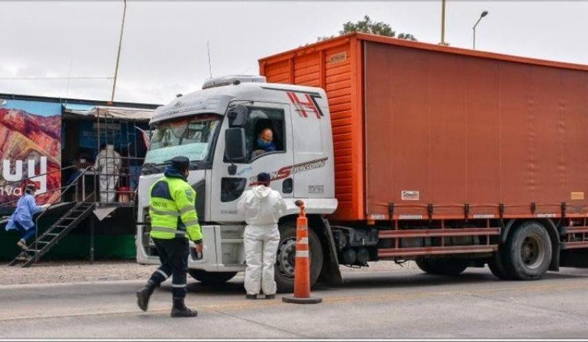 Estricto control al transporte que ingrese o egrese por Jama y La Quiaca