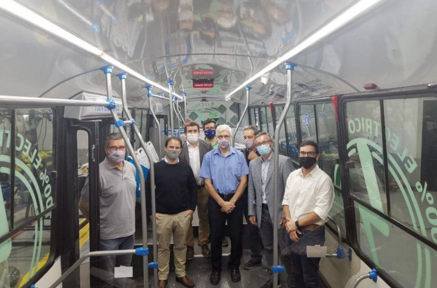 Avanza el proyecto de reconversión de buses diésel a eléctricos