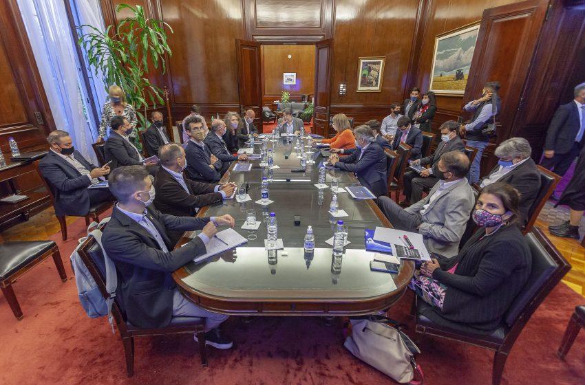 2do consejo consultivo del Banco Nación con la participación del ENAC