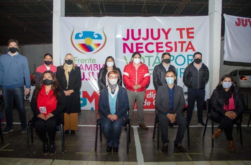 Gutiérrez pidió en Monterrico el apoyo en la urnas