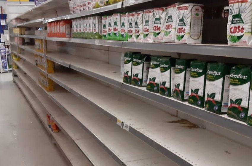 Cáen la ventas en los supermercados, pero los bancos mejoran sus negocios